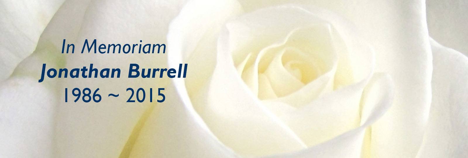 In Memoriam: Jonathan Burrell