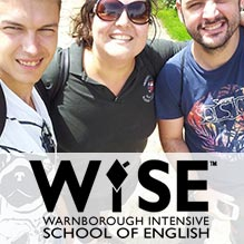 WISE English courses in England