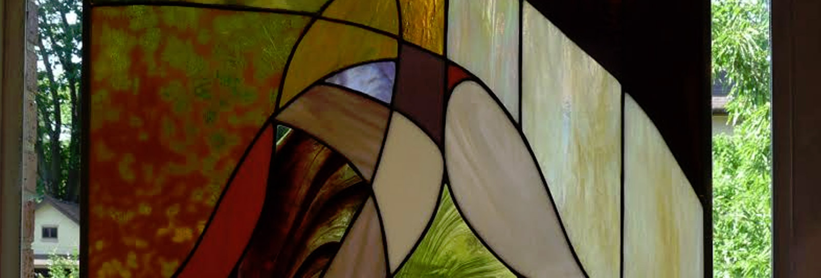 Risa Dera's Stained glass Exhibition