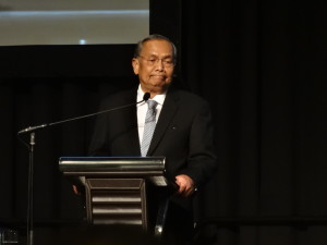 The Right Honourable Datuk Patinggi Tan Sri Dr Haji Adenan bin Haji Satem, Chief Minister of Sarawak