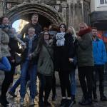 On a walking tour of Canterbury