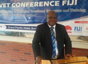 Dr Ndione K Chauluka, the CEO of TEVET Malawi