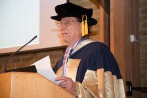 Dr John Allen welcomes everyone