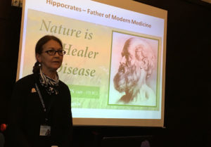 Dr Matina Chronopoulou introduces the concept of Natural Medicine