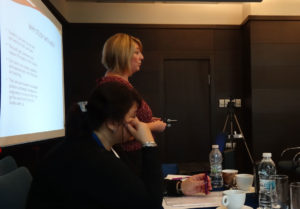 Amanda White espouses the virtues of distance learning