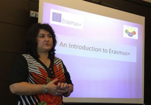 Dr Rumyana Shalamanova explains how the ERASMUS Plus system works
