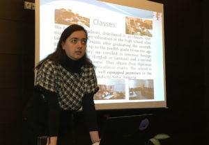 Dzana Ivanova talks about engineering programmes in Sofia