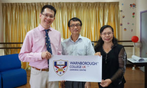 With Mr Long from Pusat Teknologi Elektronik Mahir