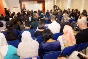 Senior Director of MATRADE, Mr. Abu Bakar Koyakutty speaks