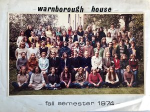 One of the very first Semester Abroad groups in 1974