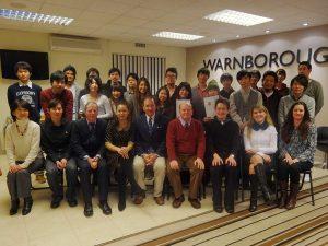 Kogakuin University (Japan) signed an historic partnership with Warnborough to run its semester abroad programmes in Canterbury