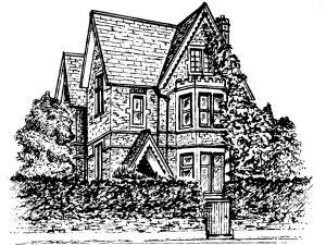 The original Warnborough House on Warnborough Road, Oxford